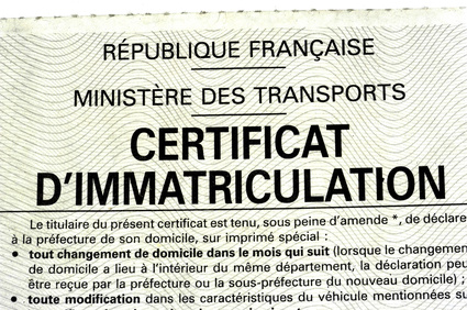 Carte grise : service, documentations