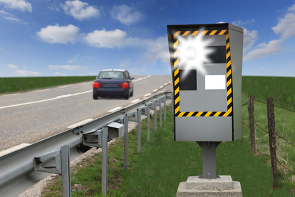 Positionnement des radars fixes en France