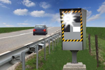 Positionnement des radars fixes en France