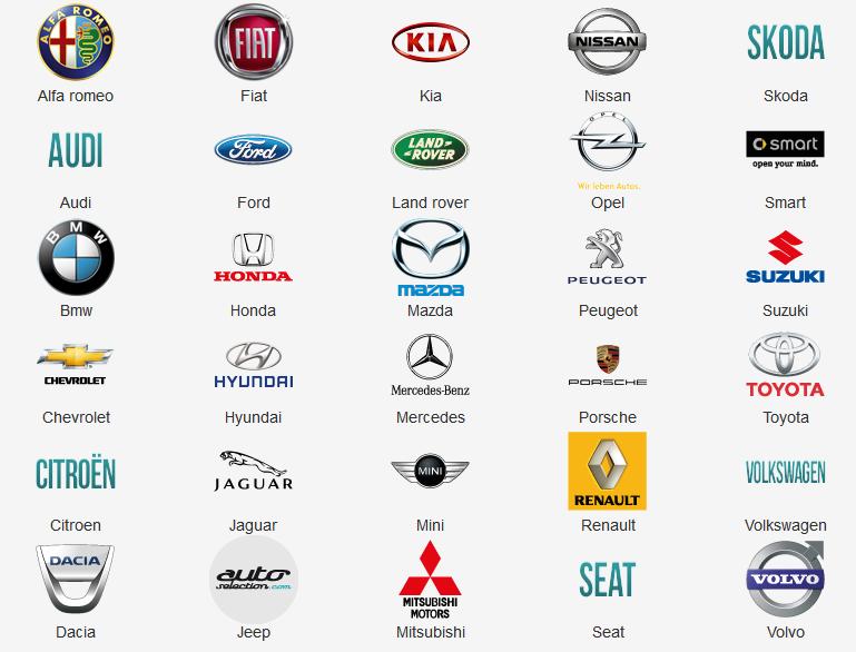 Acheter une voiture selon sa marque for Garage qui reprend les voitures en panne