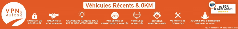Voitures d'occasion de VPN AUTOS BORDEAUX - LORMONT à Lormont