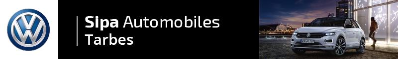 Voitures d'occasion de VOLKSWAGEN - SIPA AUTOMOBILES - TARBES à TARBES
