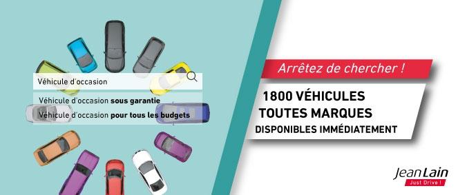 Voitures d'occasion de JEAN LAIN OCCASIONS CHAMBERY à La Motte-Servolex