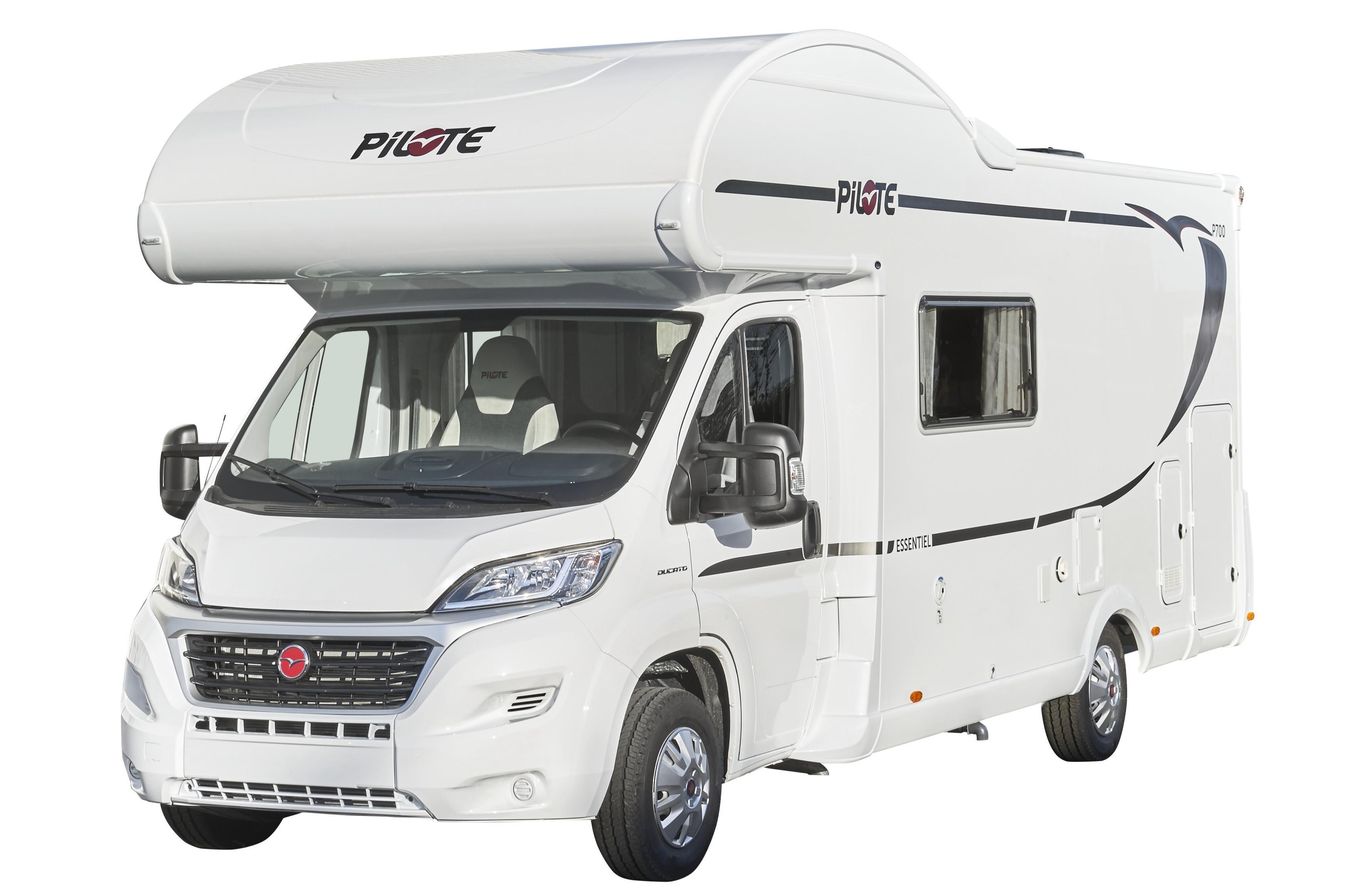 Camping Car Type D avec capucine